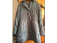 Girls grey school coat