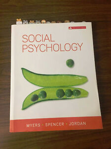 Social Psychology 6th Canadian Edition
