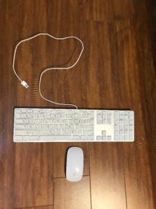 Apple Magic Keyboard with Numeric Keypad + Magic Mouse