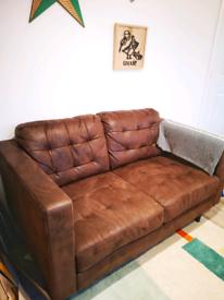 Brown sofa from TKMaxx