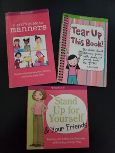 American Girl Books (3)
