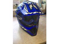 Motor cross quad scrambler bike helmet