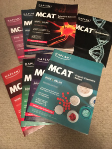 KAPLAN MCAT BOOKS