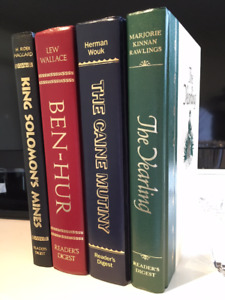 MINT Set of 4 Books: Ben-Hur, The Yearing, Solomon's Mines, Cain