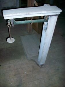 Antique Weigh Scales
