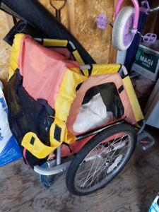 Remorque pour vélo / Bicycle kids cart trailer