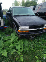 1999 S10 FOR PARTS
