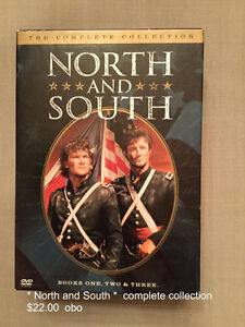 DVD  North and South  Complete Collection