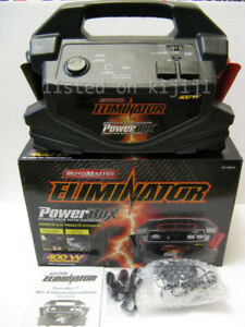 Motomaster Eliminator PowerBox with Inverter 400W