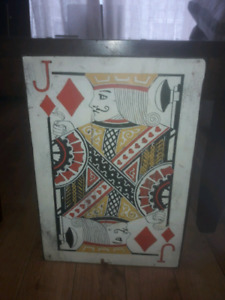 Jack of Diamonds wall hanging