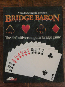 Bridge: PC games, books, cards, score sheets...