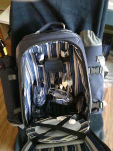New backpack picnic basket