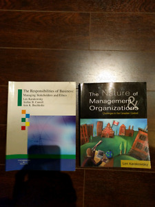 Nature of management & organizations and responsibilities of bus