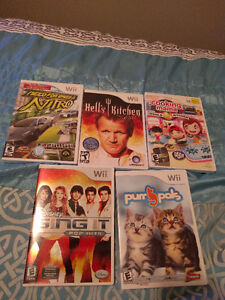 Wii games!! Great condition, manuel's included! Cambridge Kitchener Area image 2