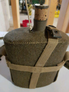 WW2 AUTHENTIC BRITISH WATER CANTEEN