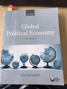 TEXTBOOK Global Political Economy 4th Ed.