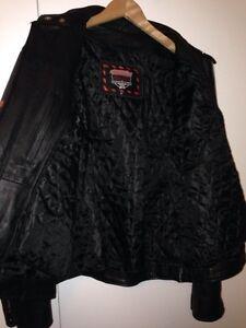 Leather Motorcycle Jacket - Men's Medium Regina Regina Area image 3
