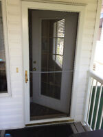 Affordable In St Albert  STORM DOOR INSTALLs  &  Fixing   Deadbo