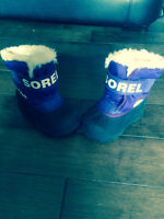 Toddler winter boots in excellent condition