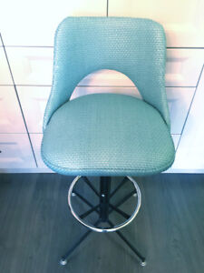 STOOL / SWIVEL CHAIR - Newly Upholstered