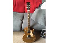 2008 Gibson Les Paul gold top