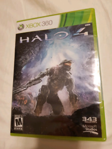 NEW SEALED HALO 4 FOR XBOX 360