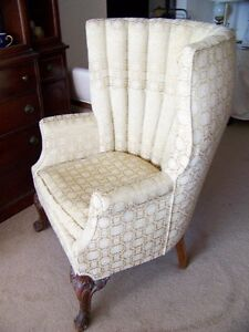 Antique High Back Chair 1800s