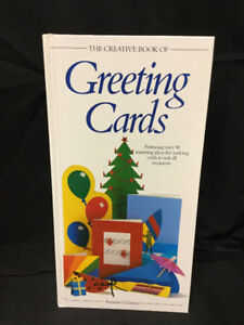 The Creative Book of Greeting Cards Book - Grt Cond!