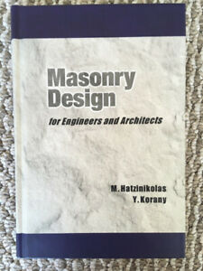 Masonry Design for Engineers and Architects Book