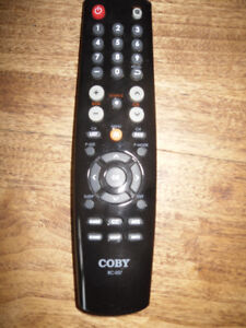 Coby TV remote