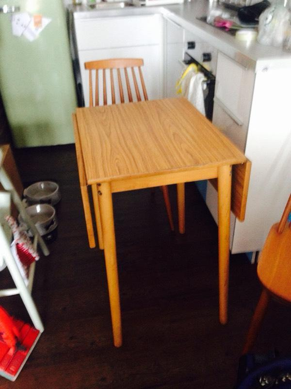 table and two chairs retro in langside glasgow gumtree