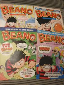 Beano magazines 1999