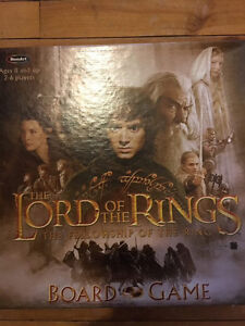 Lord of the Rings board games
