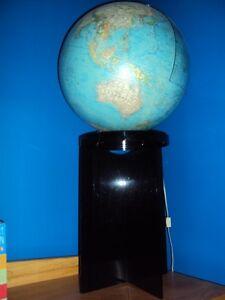 Unique Vintage/Antique 1960's standing globe light