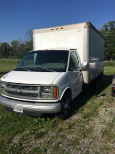 1998 Chevrolet Box Truck for Sale