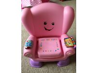 Fisher price smart stages laugh and learn chair