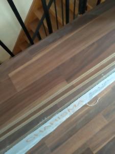 125 sq ft Laminate flooring