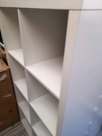 IKEA kallax expedit white 4x2 storage unit