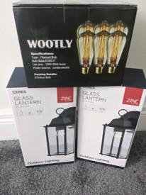 Outdoor Lanterns & Bulbs