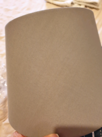 New Ikea Grey Lampshade 25cm