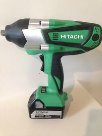 Brand new Hitachi 18v Impact Wrench ( makita dewalt milwaukee hilti bosch sealey ingersoll facom