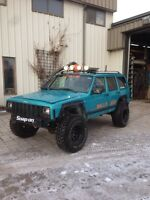 97 lifted Cherokee