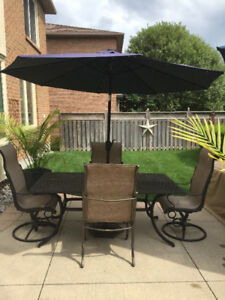 Outdoor Steel Patio Set