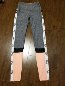 New Pink Workout Yoga Tights Leggings - XS