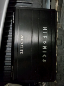 HIFONICS ZEUS ELITE (BLOWN) $50.00