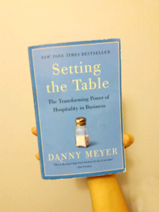 Setting the Table by Danny Mayer