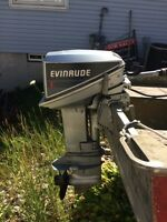 Great running 9.9hp Evinrude