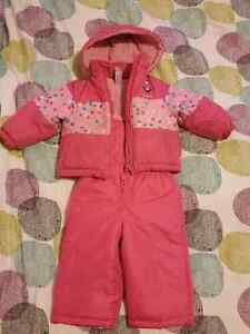 2T size Carters brand girl snowsuit