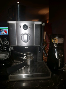 Breville cafe espresso machine