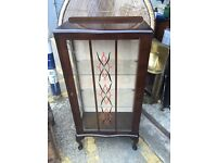 Gorgeous Art Deco China Cabinet / Cocktail Cabinet @LOOK@ Vintage